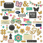 Fancy Pants Designs - Flutter Collection - Ephemera Pack