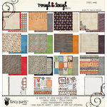 Fancy Pants Designs - Rough and Tough Collection - 12 x 12 Paper Kit