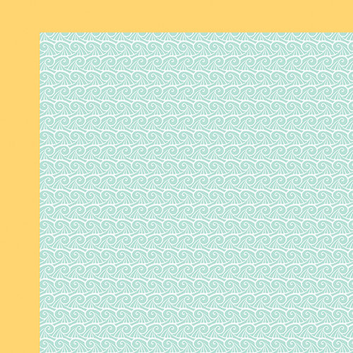Fancy Pants Designs - Making Waves Collection - 12 x 12 Double Sided Paper - Plunge