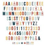 Fancy Pants Designs - Making Waves Collection - Alphabet and Number Pack