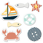 Fancy Pants Designs - Making Waves Collection - Button Mix