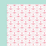 Fancy Pants Designs - Summer Sun Collection - 12 x 12 Double Sided Paper - Anchored