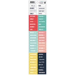 Fancy Pants Designs - Happy Place Collection - Cardstock Stickers - Diction