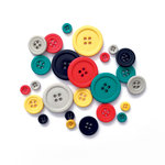 Fancy Pants Designs - Happy Place Collection - Buttons