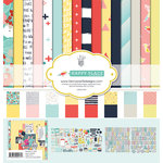 Fancy Pants Designs - Happy Place Collection - 12 x 12 Collection Kit