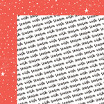 Fancy Pants Designs - Wish Season Collection - Christmas - 12 x 12 Double Sided Paper - Season to Wish