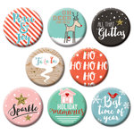 Fancy Pants Designs - Wish Season Collection - Christmas - Flair