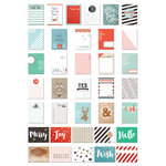 Fancy Pants Designs - Wish Season Collection - Christmas - Brag Cards
