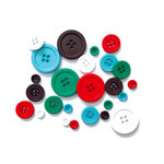 Fancy Pants Designs - Wish Season Collection - Christmas - Buttons