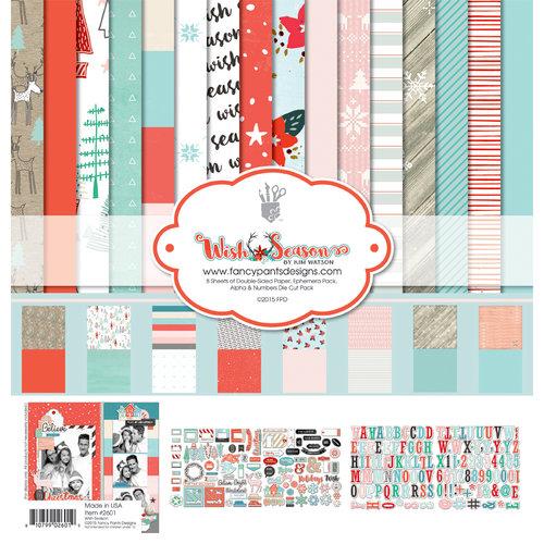 Fancy Pants Designs - Wish Season Collection - Christmas - 12 x 12 Collection Kit