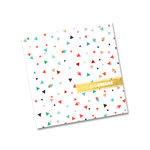Fancy Pants Designs - Wish Season Collection - Christmas - 8 x 8 Journal - Big Big Dreams