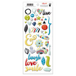 Fancy Pants Designs - Attwell Collection - Puffy Stickers