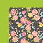 Fancy Pants Designs - Life is Beautiful Collection - 12 x 12 Double Sided Paper - Fancy Floral