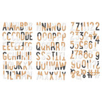 Fancy Pants Designs - Life is Beautiful Collection - Chipboard Stickers - Alphabet
