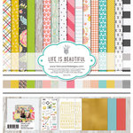 Fancy Pants Designs - Life Is Beautiful Collection - 12 x 12 Collection Kit