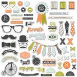Fancy Pants Designs - Good Fellows Collection - Ephemera Pack