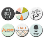 Fancy Pants Designs - Good Fellows Collection - Flair