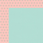 Fancy Pants Designs - Millie and June Collection - 12 x 12 Double Sided Paper - Little Sis