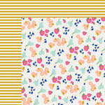 Fancy Pants Designs - Millie and June Collection - 12 x 12 Double Sided Paper - Our Garden