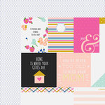 Fancy Pants Designs - Millie and June Collection - 12 x 12 Double Sided Paper - So Pretty