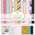 Fancy Pants Designs - Millie and June Collection - 12 x 12 Collection Kit
