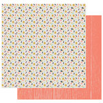 Fancy Pants Designs - Golden Days Collection - 12 x 12 Double Sided Paper - Falling Leaves