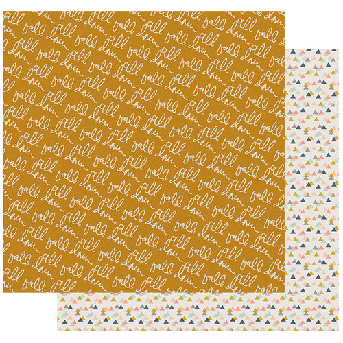 Fancy Pants Designs - Golden Days Collection - 12 x 12 Double Sided Paper - Hazy Days
