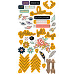 Fancy Pants Designs - Golden Days Collection - Puffy Stickers