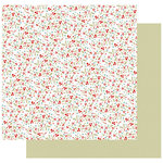 Fancy Pants Designs - Merry and Bright Collection - Christmas - 12 x 12 Double Sided Paper - Happy Holly Days