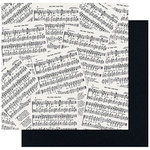 Fancy Pants Designs - Merry and Bright Collection - Christmas - 12 x 12 Double Sided Paper - Musical Memories