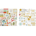 Fancy Pants Designs - Merry and Bright Collection - Christmas - Ephemera