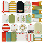 Fancy Pants Designs - Merry and Bright Collection - Christmas - Gift Tags and Labels