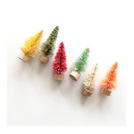 Fancy Pants Designs - Merry and Bright Collection - Christmas - Bottle Brush Trees - 2 Inches