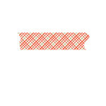 Fancy Pants Designs - Merry and Bright Collection - Christmas - Washi Tape - Plaid