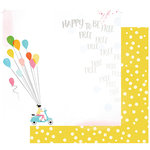 Fancy Pants Designs - Joy Parade Collection - 12 x 12 Double Sided Paper - Happy to be Free