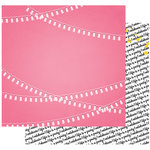Fancy Pants Designs - Joy Parade Collection - 12 x 12 Double Sided Paper - Love Pretty Garlands
