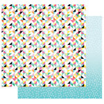 Fancy Pants Designs - Joy Parade Collection - 12 x 12 Double Sided Paper - Wrap it Up