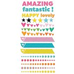 Fancy Pants Designs - Joy Parade Collection - Puffy Stickers - Shapes and Dots