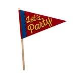 Fancy Pants Designs - Craft Edition Collection - Felt Pennant - Let's Party