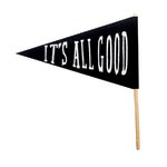 Fancy Pants Designs - Craft Edition Collection - Felt Pennant - It's All Good