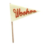 Fancy Pants Designs - Craft Edition Collection - Felt Pennant - Woohoo