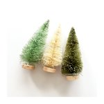 Fancy Pants Designs - Merry and Bright Collection - Christmas - Bottle Brush Trees - 5 Inches