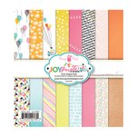 Fancy Pants Designs - Joy Parade Collection - 6 x 6 Paper Pad
