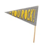 Fancy Pants Designs - Craft Edition Collection - Felt Pennant - You Rock
