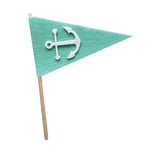 Fancy Pants Designs - Craft Edition Collection - Felt Pennant - Anchor