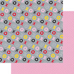 Fancy Pants Designs - Sweet Nothings Collection - 12 x 12 Double Sided Paper - XOXO