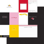 Fancy Pants Designs - Sweet Nothings Collection - 12 x 12 Double Sided Paper - Moments to Love