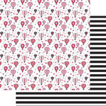 Fancy Pants Designs - Sweet Nothings Collection - 12 x 12 Double Sided Paper - Love is in the Air