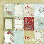 Fancy Pants Designs - Christmas Magic Collection - 12 x 12 Double Sided Paper - Christmas Magic Cards , CLEARANCE