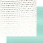 Fancy Pants Designs - Family and Co Collection - 12 x 12 Double Sided Paper - All Together